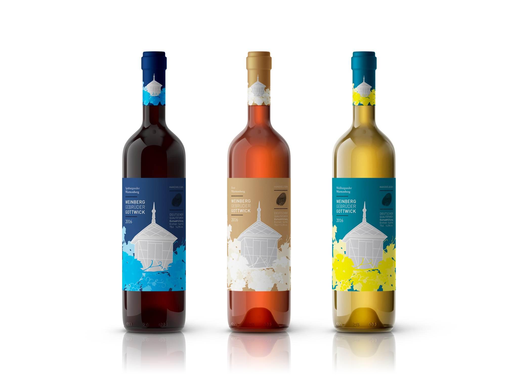 Freiland Design Weinflaschen Gottwick